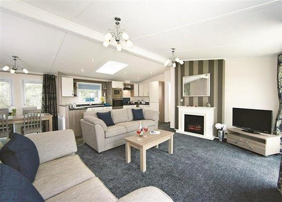 Valley View Lodge at Tan Rallt Country Park, Abergele