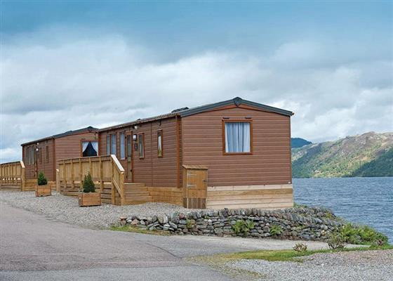 Vantage at Loch Ness Highland Lodges, Inverness