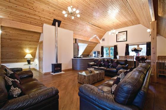 Vegas Executive Lodge at Piperdam Lodges, Dundee