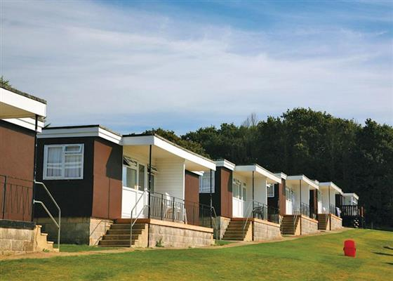 Ventnor Chalet 4 at Whitecliff Bay Holiday Park, Bembridge