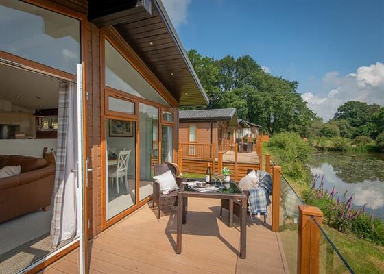 Waterside Lodge at Lakeview Manor Lodges, Honiton
