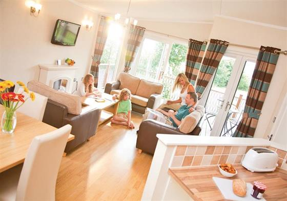 Waveney Leisure Lodge 3 at Waveney River Centre, Beccles