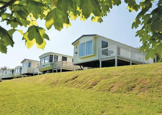 WB 2 Bed Bronze Caravan (Pet) WF at Widemouth Bay Caravan Park, Bude