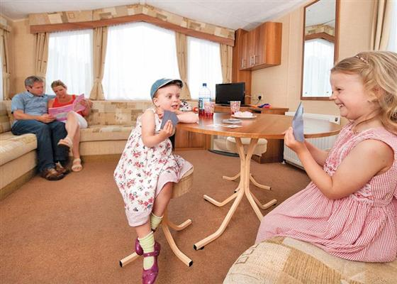 WB 3 Bed Budget Caravan at Widemouth Bay Caravan Park, Bude