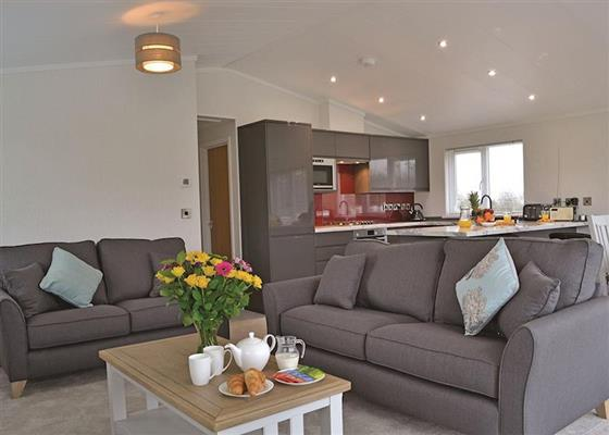 Willow Lodge at Florence Springs Lakeside Lodges, Tenby