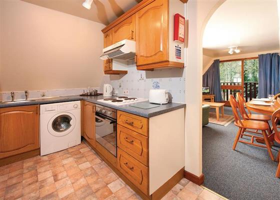 Woodland Gold Lodge at St Ives Holiday Village, Saint Ives