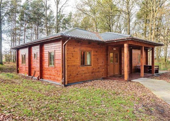 Woodland Hawthorn Lodge at Woodland Park Lodges, Ellesmere