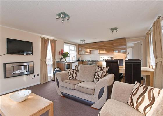 Woodland Leisure Lodge at Swainswood Park, Swadlincote