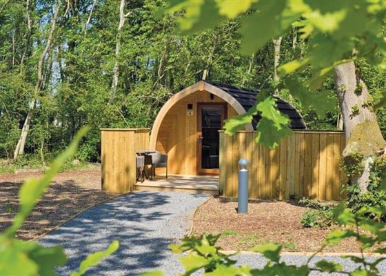 Woodland Pod at Woodthorpe Leisure Park, Alford