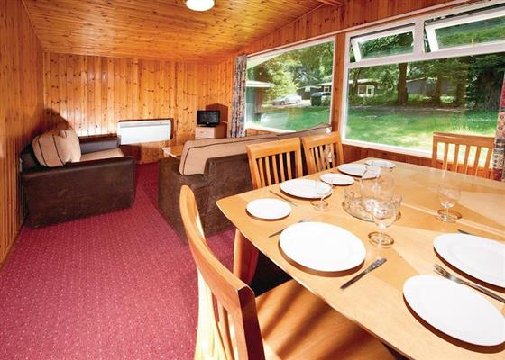 Woodland Silver Chalet at St Ives Holiday Village, St Ives