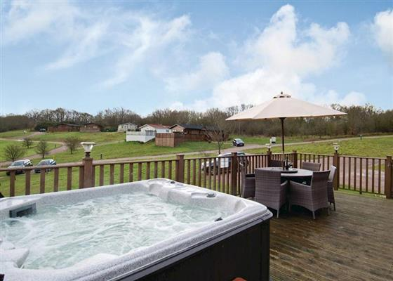 Woodlands Lodge at Herbage Country Lodges, Maldon