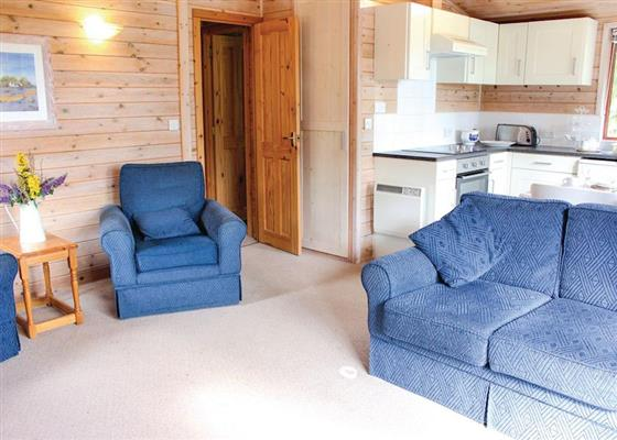 Woodpecker Lodge at Pine Lodges at Arscott Golf Club, Shrewsbury